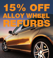 15% OFF ALLOY WHEEL REFURBS