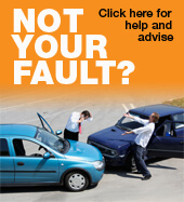 HAD AN ACCIDENT? NOT YOUR FAULT?